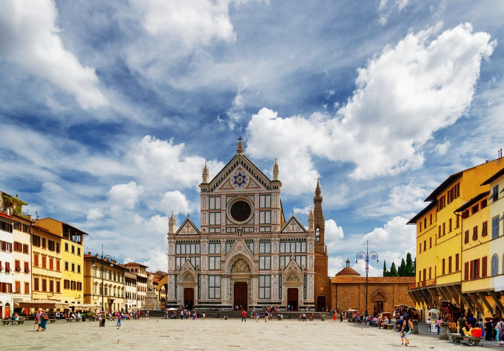 The Basilica of Santa Croce