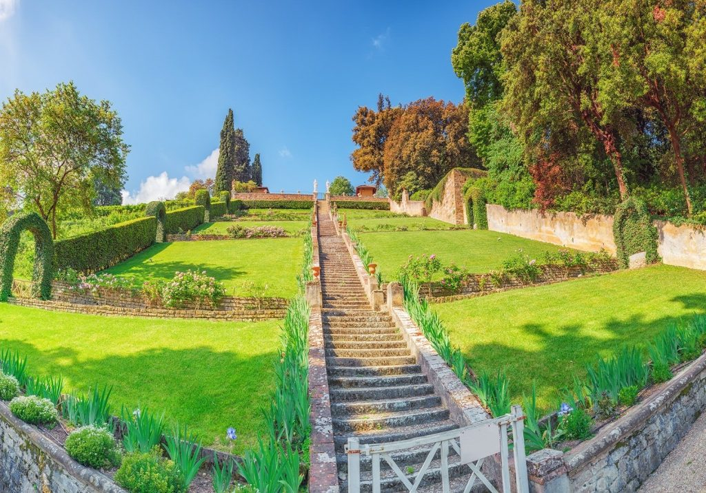 the Bardini garden